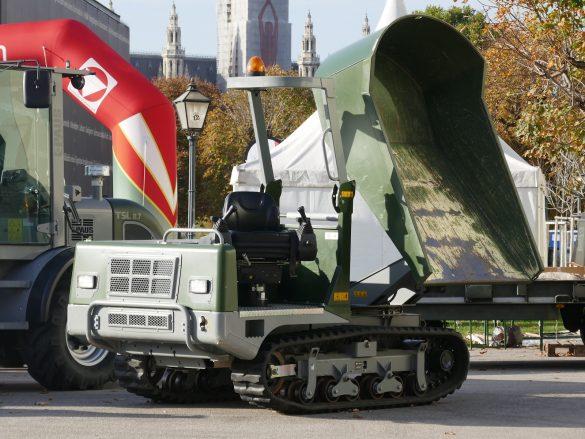 Kettendumper Messersi THC 2500 © Doppeladler.com