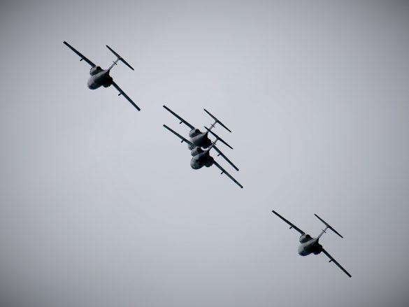 Saab 105 Oe 4er-Formation © Doppeladler.com