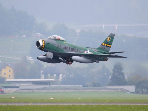 North American F-86 Sabre 'FU-675' © Doppeladler.com