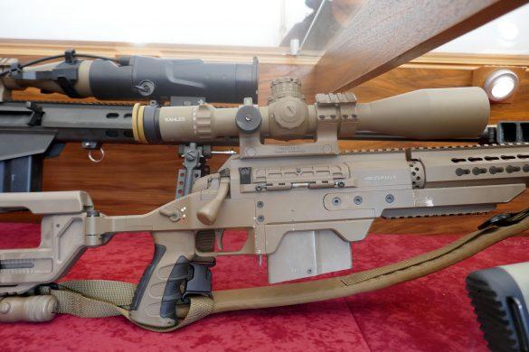 8,6 mm mittleres Scharfschützengewehr Steyr Mannlicher M1 (Kaliber .338 Lapua Magnum) © Doppeladler.com