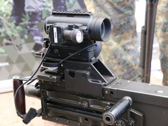üsMG Browning M2 mit Aimpoint und Laserzieleinrichtung © Doppeladler.com
