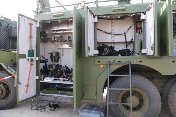 Platz für viel Ausrüstung im MAN HX2 41.545 8x8 BB © Doppeladler.com