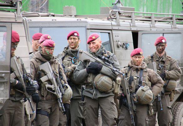Soldaten des Jägerbataillons 25 © Doppeladler.com