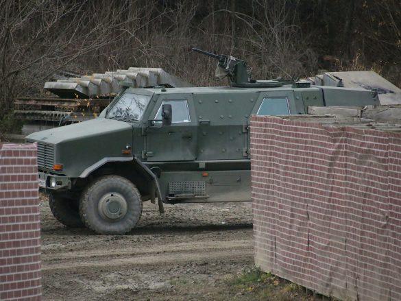 Patrouillen- und Sicherungsfahrzeug Dingo 2 © Doppeladler.com