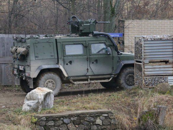 Feuerunterstützung durch GMF HUSAR © Doppeladler.com