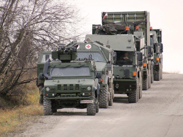 Das Combat Service Support Battalion CSSBn ist bereit © Doppeladler.com