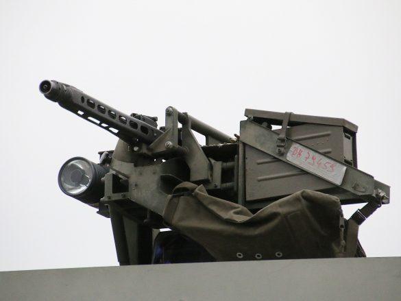 Zum Selbstschutz sind die MAN 38.440 8x8 ÖBH mit Überkopf-Waffenstationen ausgerüstet © Doppeladler.com
