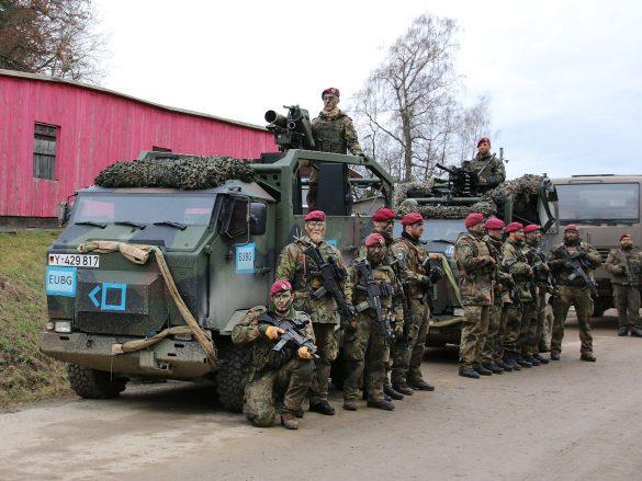 MUNGOs mit Panzerabwehrlenkwaffe Milan und 40 mm Granatmaschinenwaffe © Doppeladler.com