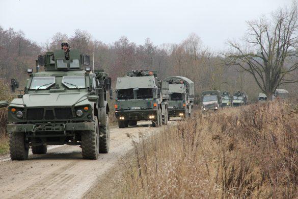 Das Combat Service Support Battalion (CSSBn) rückt nach © Bundesheer