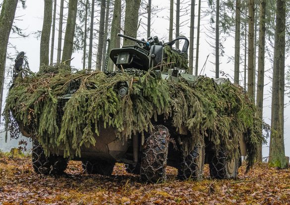 Mannschaftstransportpanzer PANDUR Evolution © Bundesheer