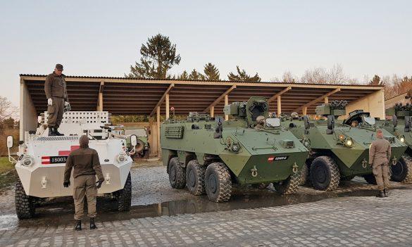 Sanitätspanzer PANDUR und Mannschaftstransportpanzer PANDUR Evolution © Bundesheer