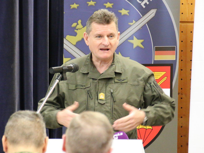 Generalleutnant Franz Reißner, der Kommandant der Landstreitkräfte © Doppeladler.com