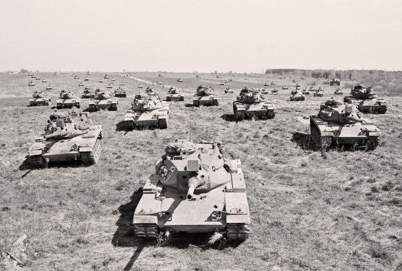 Kampfpanzer M60A3Ö © Bundesheer