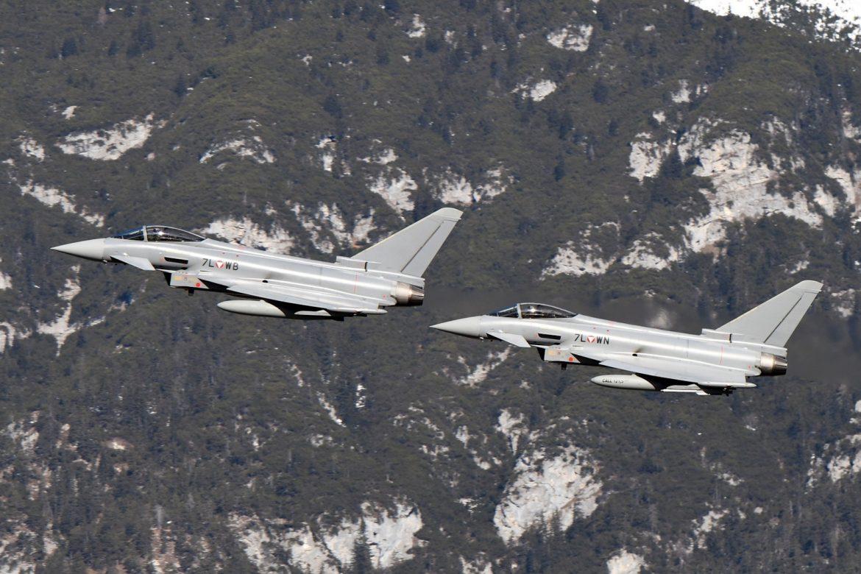 Startende Rotte Eurofighter Typhoon © Bundesheer