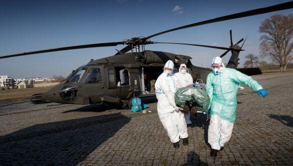 28.03.2020 - Ankunft im Sanitätszentrum OST © Bundesheer