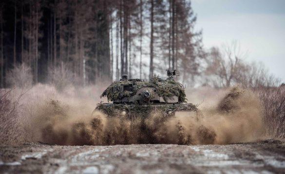 Kampfpanzer Leopard 2A4 - eine gefährdete Spezies © Bundesheer