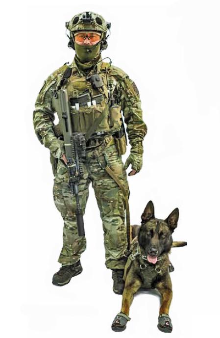 Hundeführer / K9 des Jagdkommandos © Bundesheer