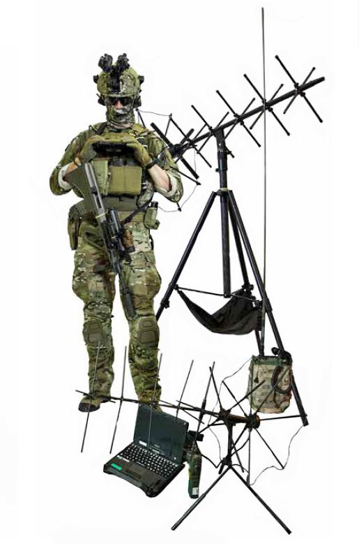 Führungsunterstützer / Signal Supporter des Jagdkommandos © Bundesheer