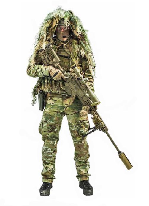 Scharfschütze / Sniper des Jagdkommandos © Bundesheer