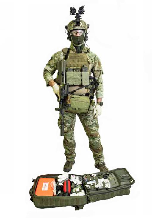 Einsatzunterstützer / Mission Supporter - hier Sanitäter - des Jagdkommandos © Bundesheer