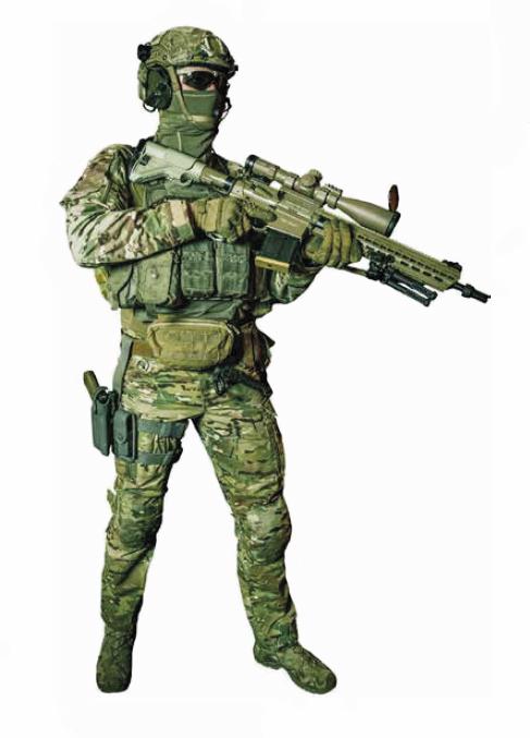 Waffen-Spezialist / Weapons-Specialist des Jagdkommandos © Bundesheer