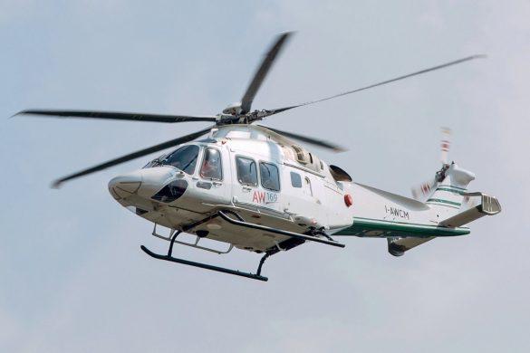 Die Hubschrauber des Bundesheeres und der italienischen Heeresflieger werden voraussichtlich mit Kufenlandegestell ausgestattet. Hier der Prototyp I-AWCM des AW169 mit Kufen © Simone Previdi