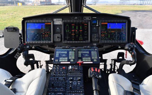 Cockpit von Rockwell-Collins einer zivilen AW169 © Leonardo