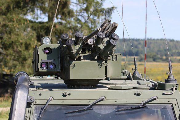 Waffenstation WS4 Panther mit 12,7 mm üsMG © Doppeladler.com