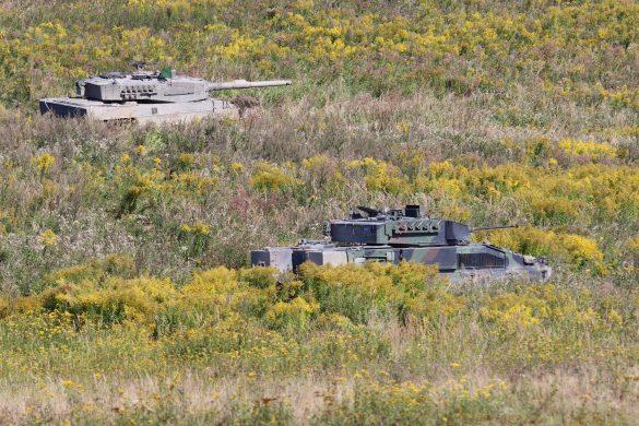 Das dynamische Duo: Kampfpanzer Leopard 2A4 und Schützenpanzer Ulan © Doppeladler.com