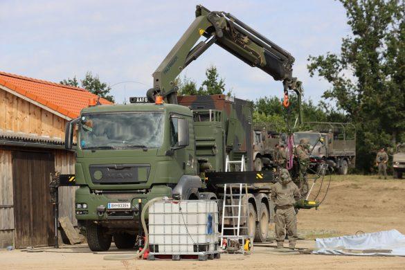 ABC Dekontaminationssystem MAMMUT auf Trägerfahrzeug RMMV MAN TGS 38.480 8x8 © Doppeladler.com