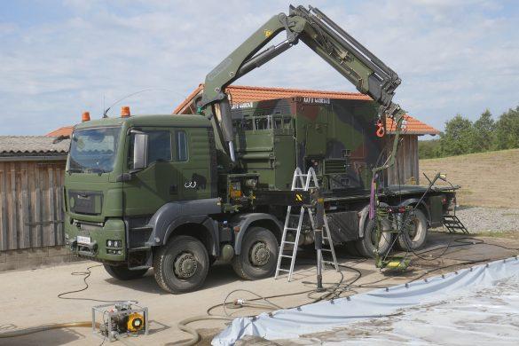 ABC Dekontaminationssystem MAMMUT auf Trägerfahrzeug RMMV MAN TGS 38480 8x8 © Doppeladler.com