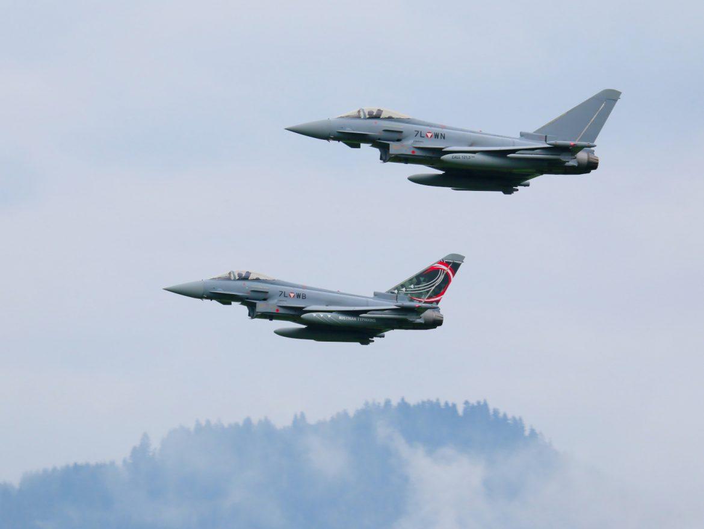Eurofighter Typhoon der österreichischen Luftstreitkräfte © Doppeladler.com