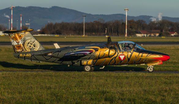 "SAAB 105 OE BJ-40 ""Golden Tiger"" © Christian Köhler"