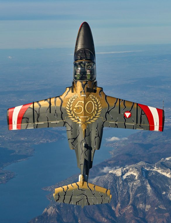 "SAAB 105 OE BJ-40 ""Golden Tiger"" © Bundesheer"