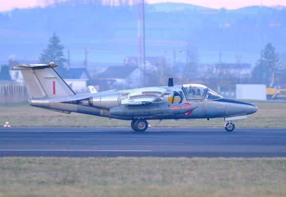RI-29 bei der letzten Landung im operativen Einsatz © Daniel Sinn