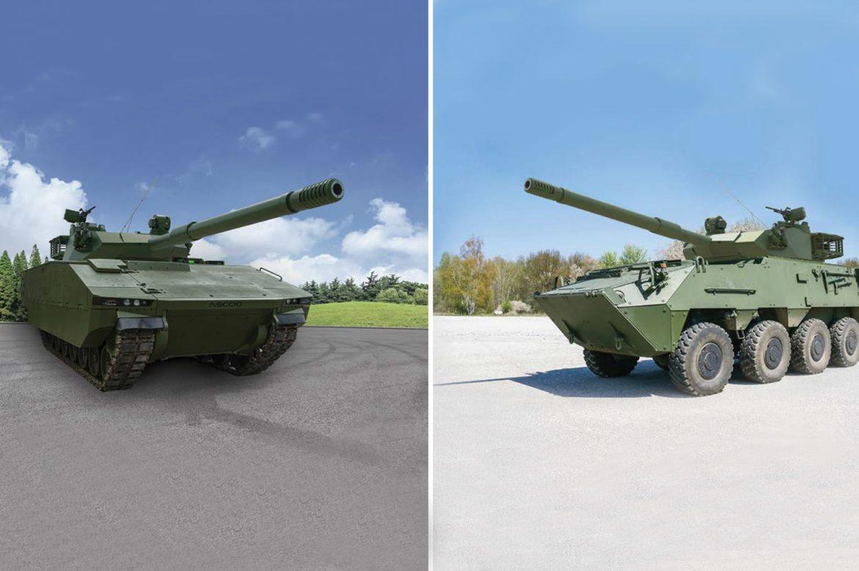 Leichter Kampfpanzer SABRAH auf ASCOD oder PANDUR © ELBIT