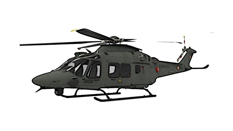 Konzept für den LUH MA (für Multiruolo Avanzato) von Leonardo Helicopters