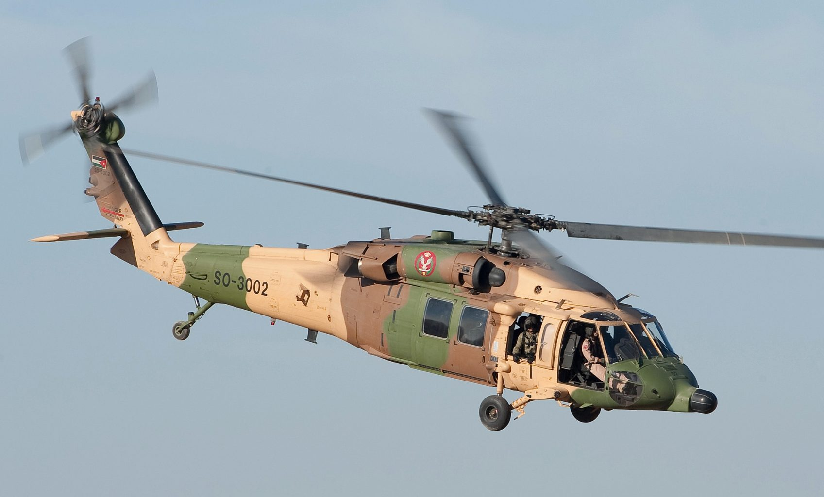 BLACK HAWK SO-3002 der Royal Jordanian Air Force © U.S. Air Force