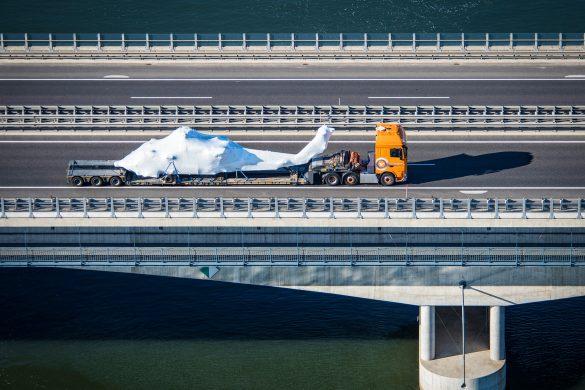 Der Prototyp kam per Schiff und LKW von Alabama nach Langenlebarn © Bundesheer