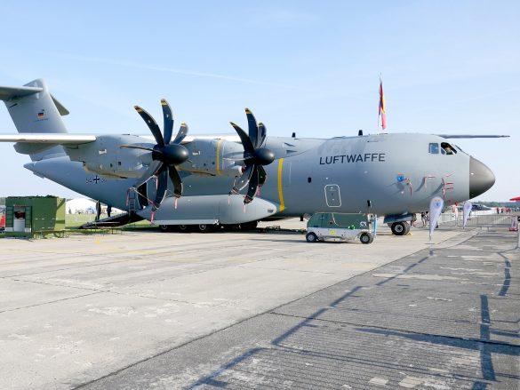 Airbus A400M 54-36 der Deutschen Luftwaffe © Doppeladler.com