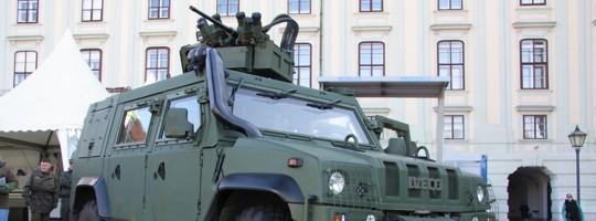 Geschütztes Mehrzweckfahrzeug IVECO LMV des Österreichischen Bundesheeres