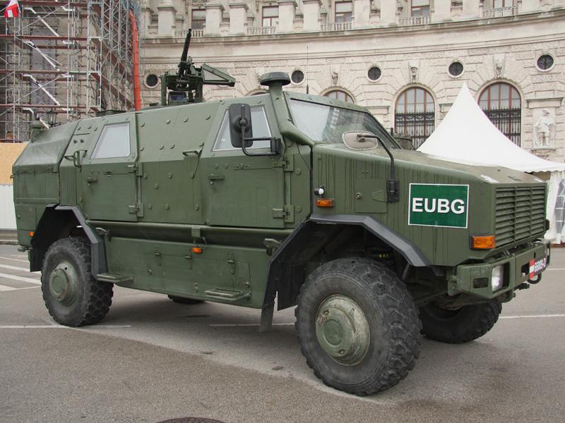 Allschutzfahrzeug Dingo II 4x4