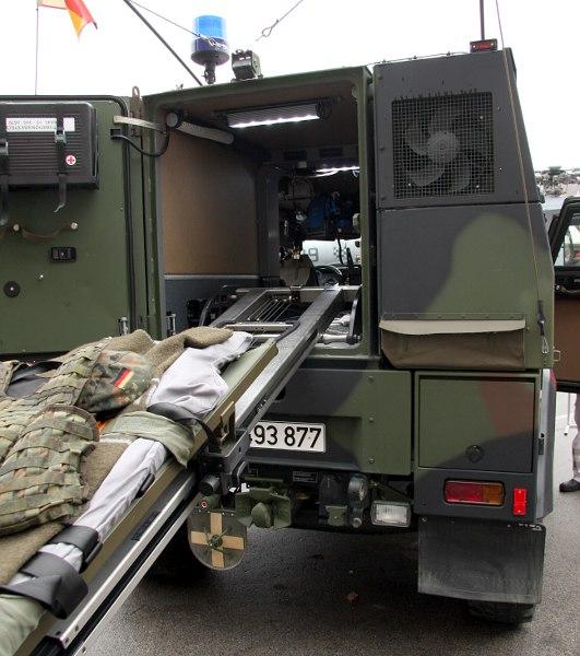 MOWAG Eagle IV BAT (Beweglicher Arzttrupp), Bundeswehr