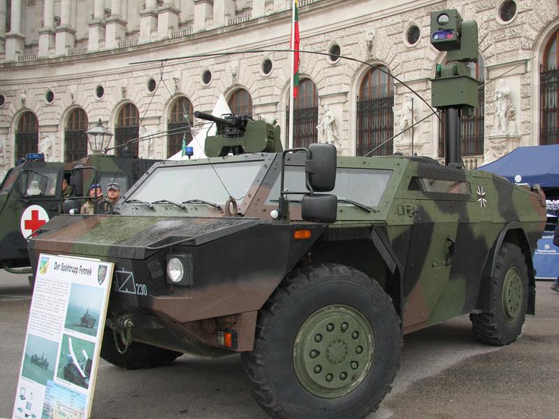 Spähwagen Fennek der Deutschen Bundeswehr