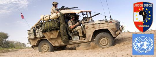Soldaten des Jagdkommandos in ihrer Puch G Sandviper