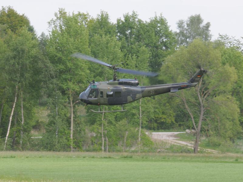 Bell UH-1D der deutschen Bundeswehr © Strobl