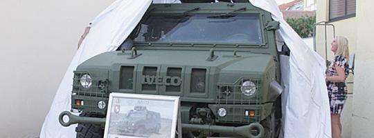 IVECO LMV des Aufklärungs- und Artilleriebataillons AAB 3 © diedritte.at/Bodensteiner