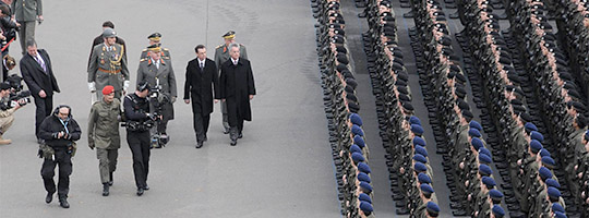 Großangelobung zum Nationalfeiertag © Bundesheer