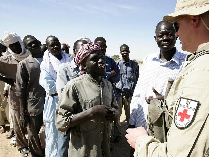 Österreich kann aufgrund des Tschad-Einsatzes auf frische Afrika-Erfahrungen aufbauen. Auch bei EUFOR Tschad spielte die medizinische Versorgung eine wichtige Rolle © Bundesheer
