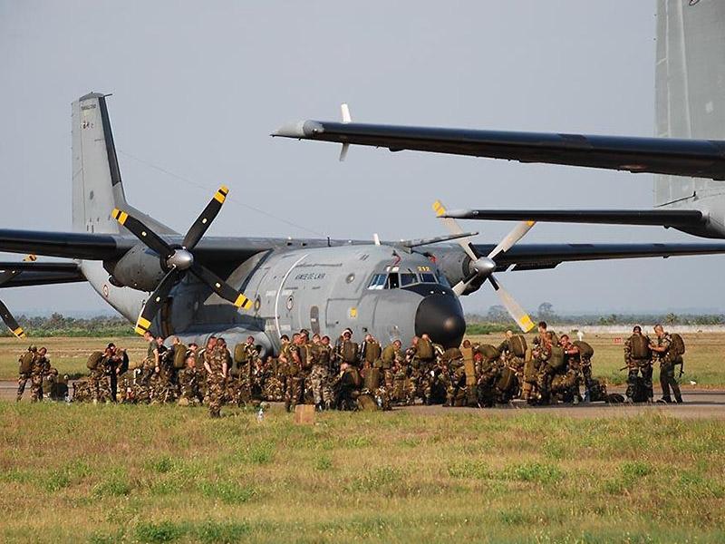 Nur dank Luftlandetruppen konnten so rasch so große Teile des Landes von den Islamisten befreit werden. Französische C-160 Transall spielten dabei eine wesentliche Rolle © French Army